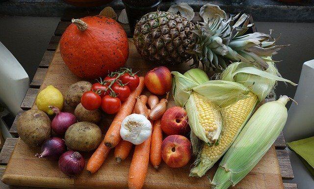 owoce, warzywa, dieta, zdrowie