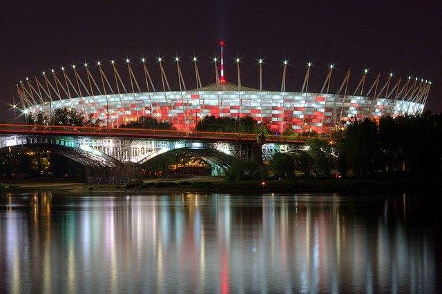 stadion, piłka nożna, sport